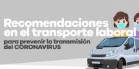 Recomendaciones en el transporte laboral
